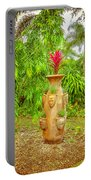 Vase's Faces Portable Battery Charger