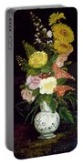 Vase Of Flowers, 1886 Portable Battery Charger