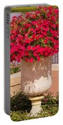 Vase Of Petunias Portable Battery Charger