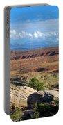 Vast Desert Landscape Portable Battery Charger