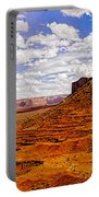 Vast Desert - Monument Valley - Arizona Portable Battery Charger