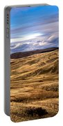 Vast View Of The Rolling Hills Portable Battery Charger by Robert Bales