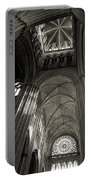 Vaults Of Rouen Cathedral Portable Battery Charger