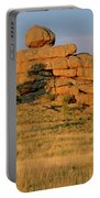 Vedauwoo Rocks Sunset Wyoming Portable Battery Charger