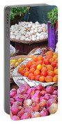 Vegetable Vendor - Omkareshwar India Portable Battery Charger