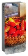 Vegetables - Hot Peppers In Farmers Market Portable Battery Charger
