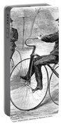 Velocipedes, 1868 Portable Battery Charger