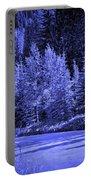 Velvet Winter - Vail - Colorado Portable Battery Charger