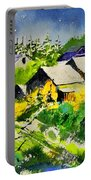 Vencimont Watercolor  Portable Battery Charger