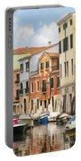 Venetian Apartments Impasto Portable Battery Charger