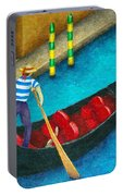Venetian Gondolier Portable Battery Charger