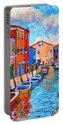 Venezia Colorful Burano Portable Battery Charger