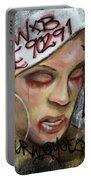 Venice Beach Wall Art 1 Portable Battery Charger