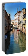 Venice Canal Portable Battery Charger by Bill Cannon
