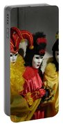 Venice Carnival Portable Battery Charger
