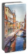 Venice In Spring Portable Battery Charger