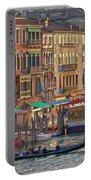Venice Palazzi At Sundown Portable Battery Charger