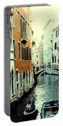 Venice Street Scene Portable Battery Charger