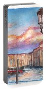 Venice Sunset Portable Battery Charger