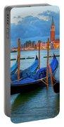 Venice View To San Giorgio Maggiore Portable Battery Charger