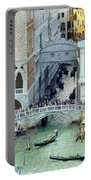 Venice's Bridge Of Sighs Portable Battery Charger