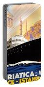Venise Vintage Travel Poster Portable Battery Charger