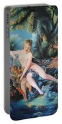 Venus Disarming Cupid Portable Battery Charger