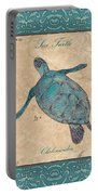 Verde Mare 4 Portable Battery Charger by Debbie DeWitt