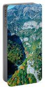 Verdon Gorge In Autumn Portable Battery Charger