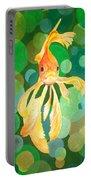 Vermilion Goldfish Portable Battery Charger