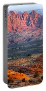 Vermillion Cliffs At Sunrise Portable Battery Charger