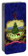 Vermont Flag Portable Battery Charger