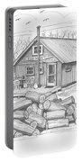 Vermont Hunter Lodge Portable Battery Charger