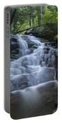 Vermont New England Waterfall Green Trees Forest Portable Battery Charger