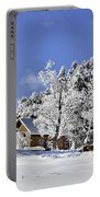 Vermont Winter Beauty Portable Battery Charger