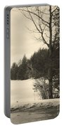 Vermont Winterland Portable Battery Charger
