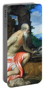 Veronese's Saint Jerome In The Wilderness Portable Battery Charger