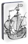 Verrazzano's Ship Portable Battery Charger