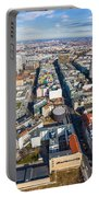 Vertical Aerial View Of Berlin Portable Battery Charger