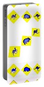 Vertical Road Signs Portable Battery Charger
