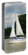 Vertical Sailboat Portable Battery Charger