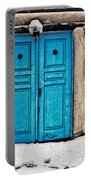 Very Blue Door Portable Battery Charger