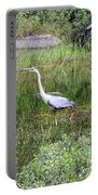 Very Hungry Blue Heron Portable Battery Charger