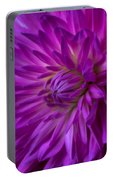 Very Pink Dahlia Portable Battery Charger