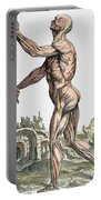 Vesalius: Muscles 02, 1543 Portable Battery Charger