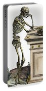 Vesalius: Skeleton, 1543 Portable Battery Charger