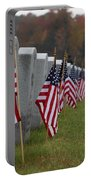 Veterans Day Portable Battery Charger