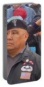 Veterans Saluting Passing Flag In A Parade Sacaton Arizona 2005-2013 Portable Battery Charger