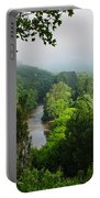 Vezere River Valley Portable Battery Charger