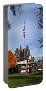 Vfw Hall Veterans Day Portable Battery Charger